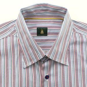 Robert Talbott Long Sleeve Dress Shirt Striped